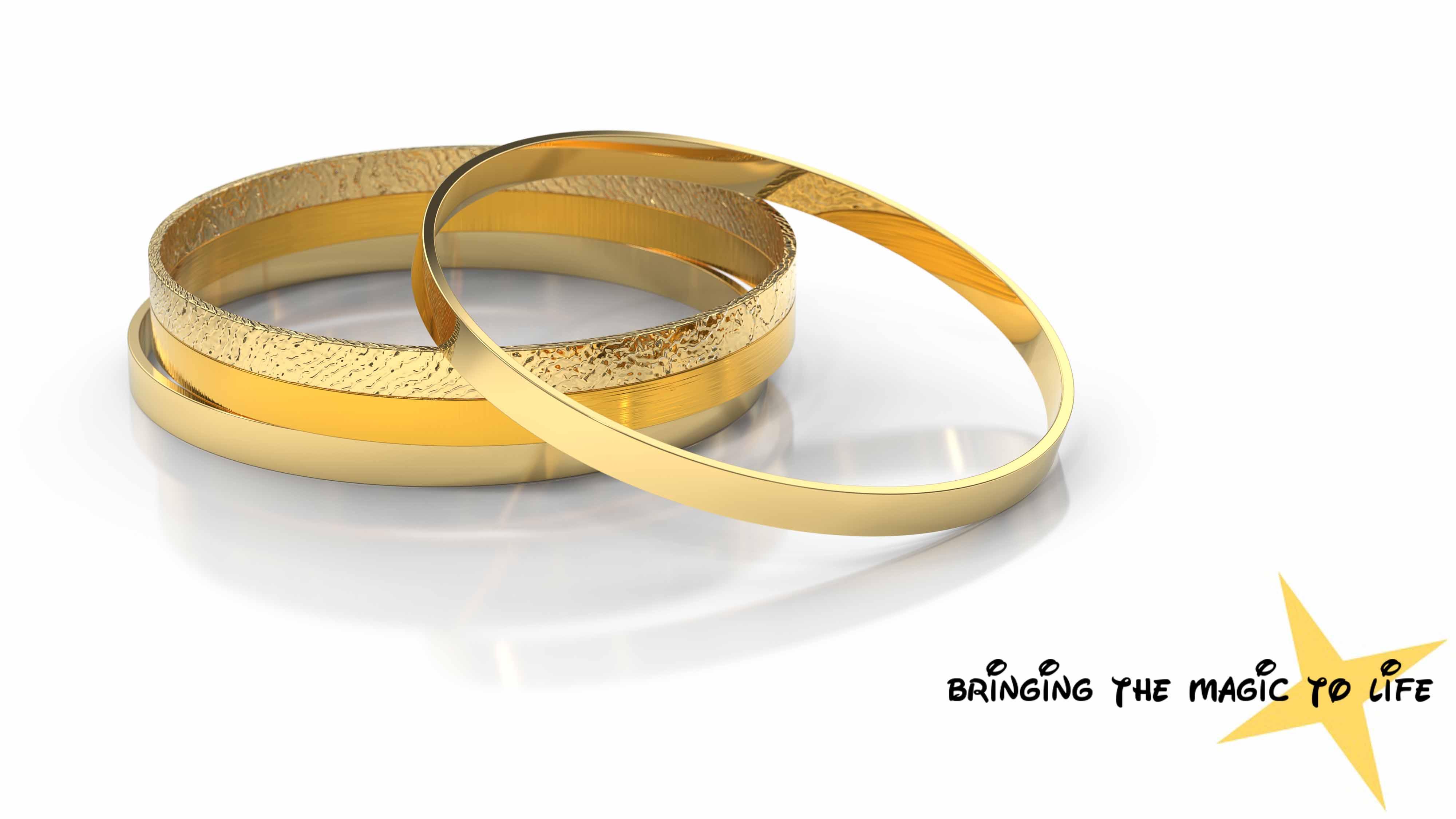 Esmeralda's Golden Bangles