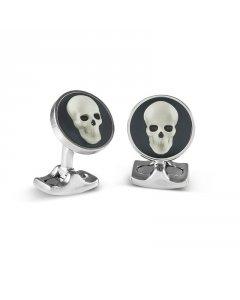 Designer Skull Cufflinks By Deakin & Francis