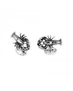 Designer Lobster Cufflinks In Sterling Silver By Deakin & Francis