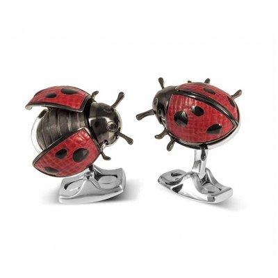 Deakin & Francis Moving Ladybird Cufflinks